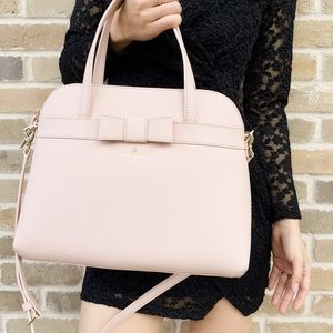‼️SALE‼️ 🌺🌺 spade pink large satchel crossbody